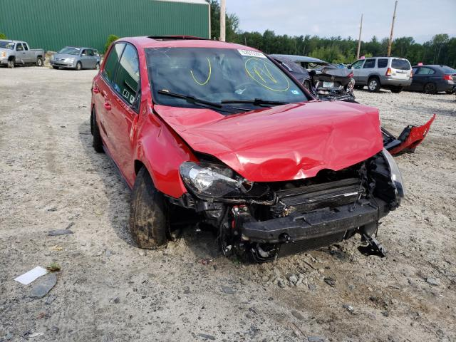 Salvage cars for sale at Candia, NH auction: 2011 Volkswagen GTI