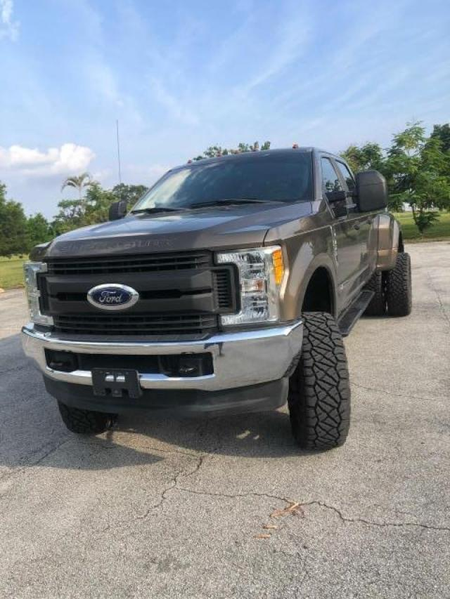 Salvage cars for sale from Copart Miami, FL: 2017 Ford F350 Super