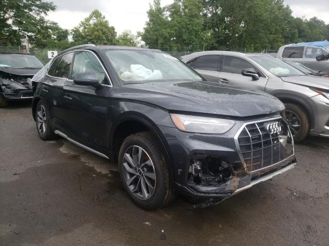 Vehiculos salvage en venta de Copart Marlboro, NY: 2021 Audi Q5 Premium
