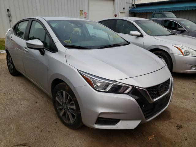 Salvage cars for sale from Copart Pekin, IL: 2020 Nissan Versa SV