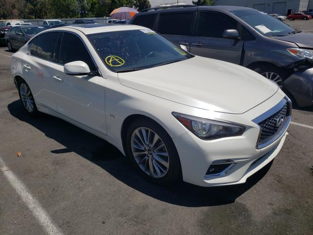 Infiniti salvage cars for sale: 2020 Infiniti Q50 Pure