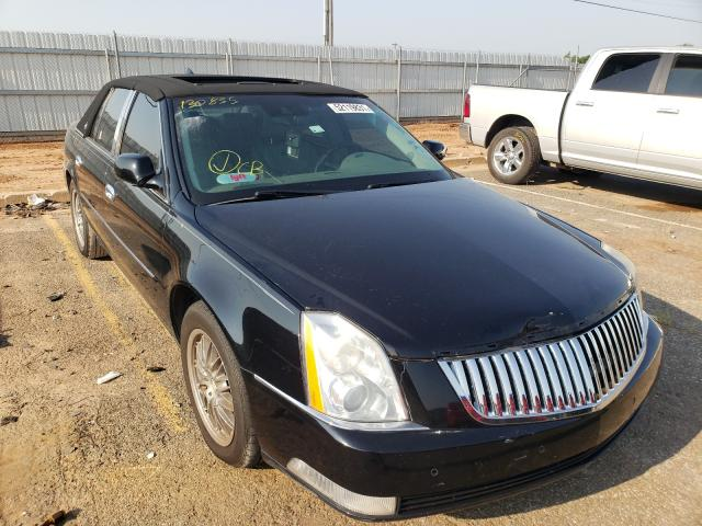 Salvage cars for sale at Oklahoma City, OK auction: 2010 Cadillac DTS Premium