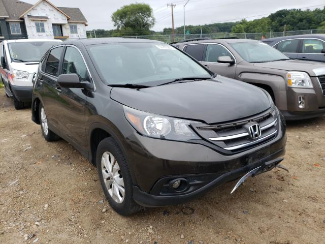 Salvage cars for sale from Copart Madison, WI: 2014 Honda CR-V EX