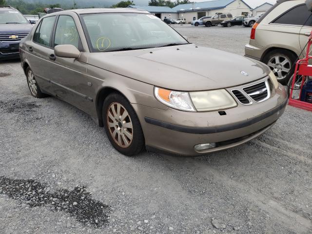 Saab salvage cars for sale: 2002 Saab 9-5 Linear