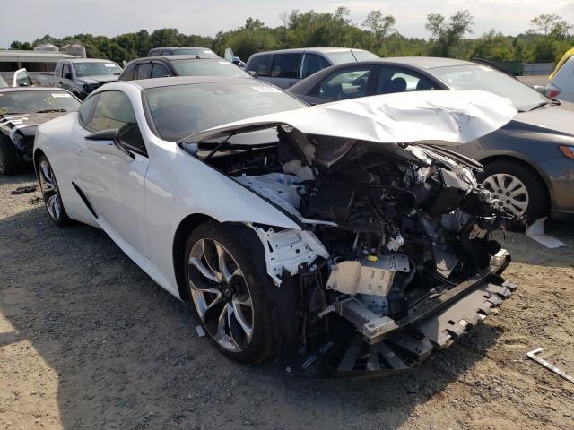 Vehiculos salvage en venta de Copart Jacksonville, FL: 2021 Lexus LC 500