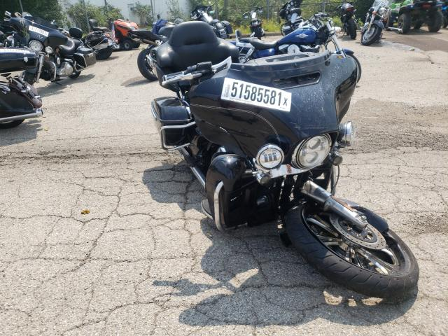 Salvage cars for sale from Copart Moraine, OH: 2014 Harley-Davidson Flhtcu ULT