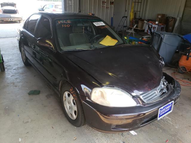 Salvage cars for sale at Shreveport, LA auction: 2000 Honda Civic EX