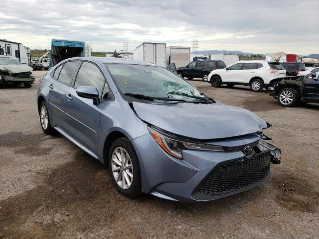 Salvage cars for sale at Tucson, AZ auction: 2021 Toyota Corolla LE
