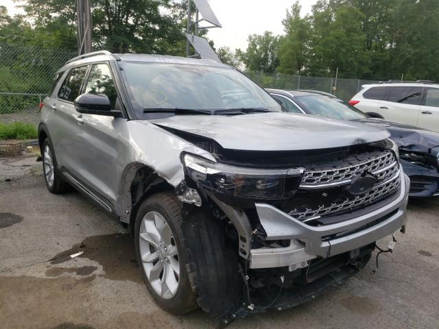 Salvage cars for sale from Copart Marlboro, NY: 2020 Ford Explorer L