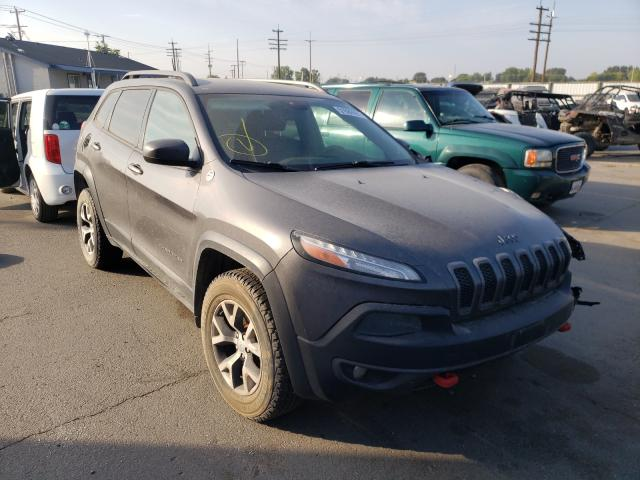 Salvage cars for sale from Copart Nampa, ID: 2014 Jeep Cherokee T