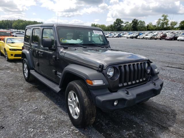 Vehiculos salvage en venta de Copart Grantville, PA: 2018 Jeep Wrangler U