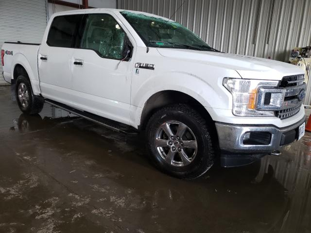Salvage cars for sale from Copart Albany, NY: 2018 Ford F150 Super
