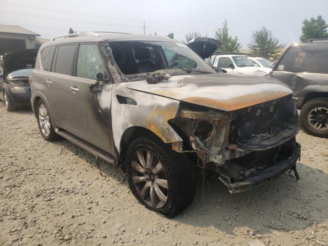 Infiniti QX56 salvage cars for sale: 2011 Infiniti QX56