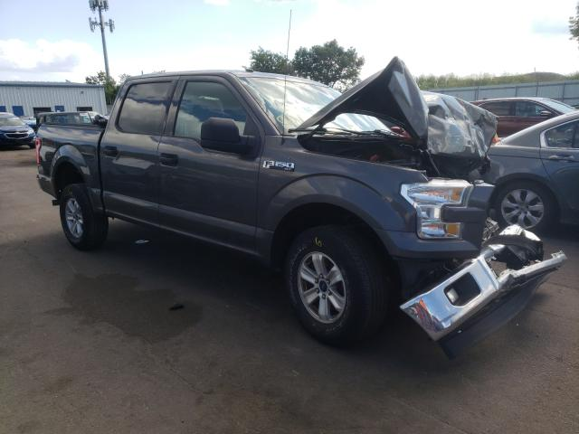 Salvage cars for sale from Copart Brookhaven, NY: 2017 Ford F150 Super