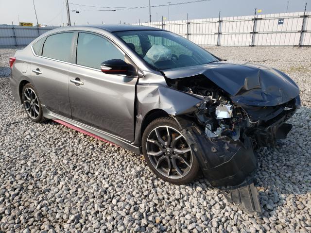 Nissan Vehiculos salvage en venta: 2018 Nissan Sentra SR