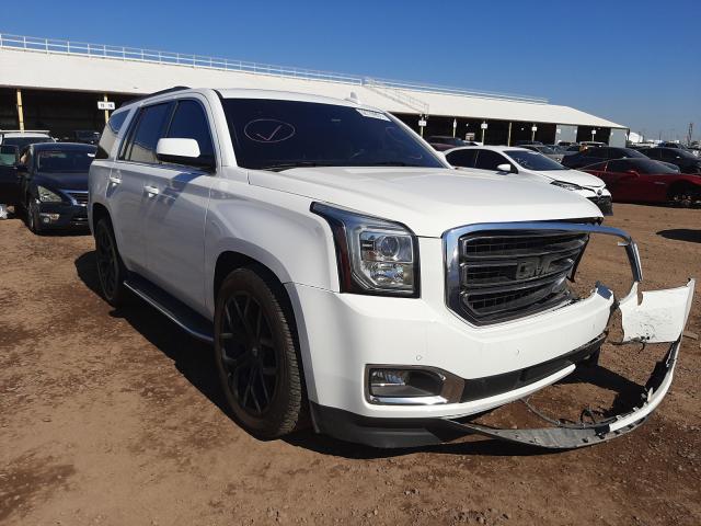 Salvage cars for sale from Copart Phoenix, AZ: 2015 GMC Yukon SLE