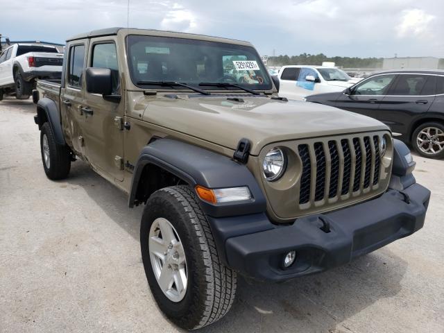 Jeep Gladiator salvage cars for sale: 2020 Jeep Gladiator