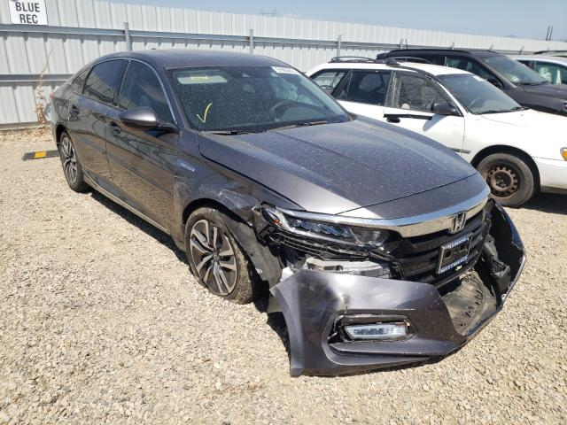Salvage cars for sale from Copart Anderson, CA: 2019 Honda Accord Hybrid