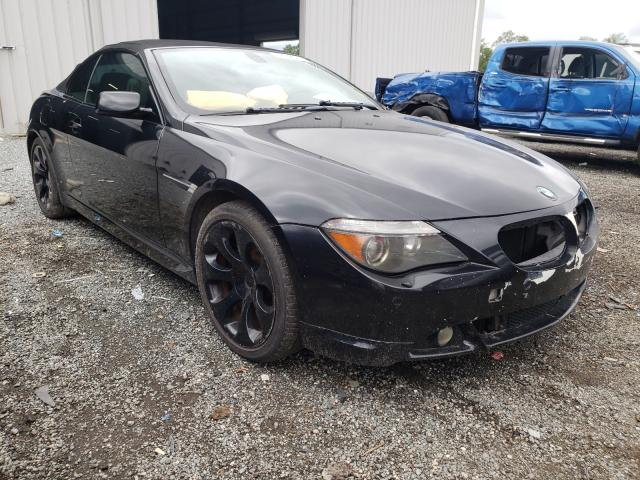 Salvage cars for sale from Copart Jacksonville, FL: 2007 BMW 650 I