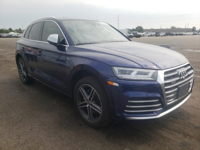 Audi salvage cars for sale: 2018 Audi SQ5 Prestige