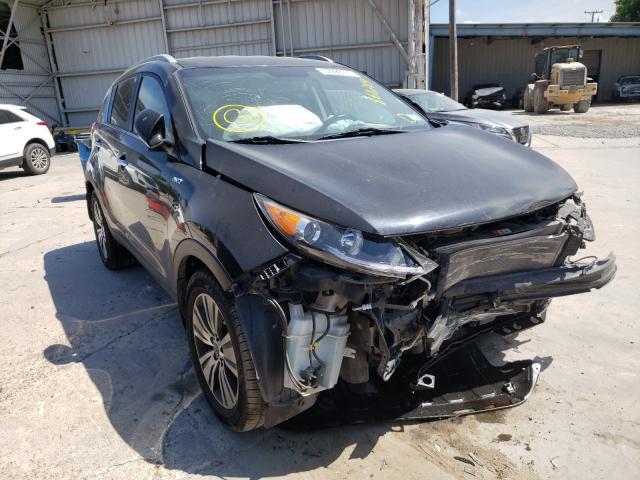 Salvage cars for sale from Copart Corpus Christi, TX: 2016 KIA Sportage E