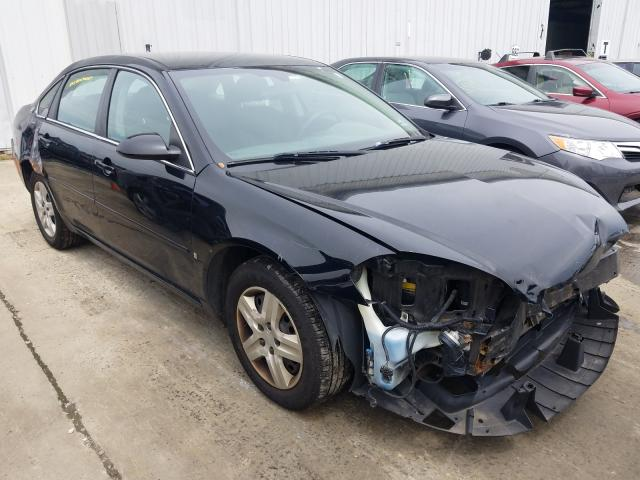 Salvage cars for sale from Copart Chambersburg, PA: 2008 Chevrolet Impala LS