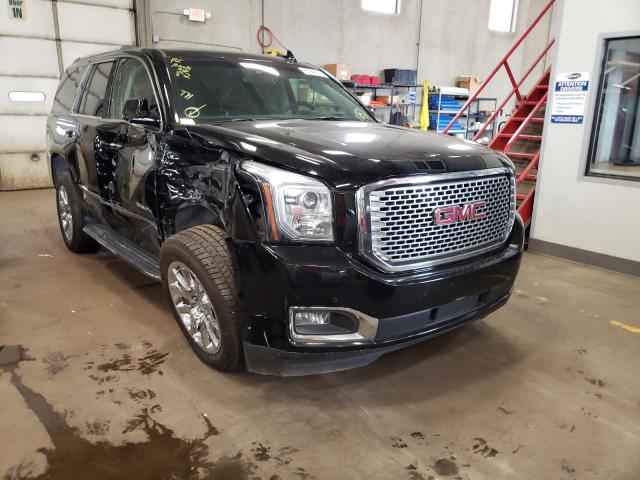 Salvage cars for sale from Copart Blaine, MN: 2017 GMC Yukon Dena