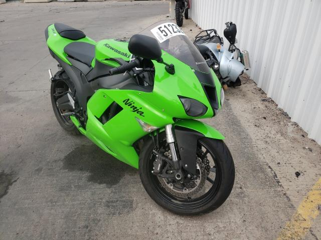 Salvage cars for sale from Copart Littleton, CO: 2007 Kawasaki ZX600 P