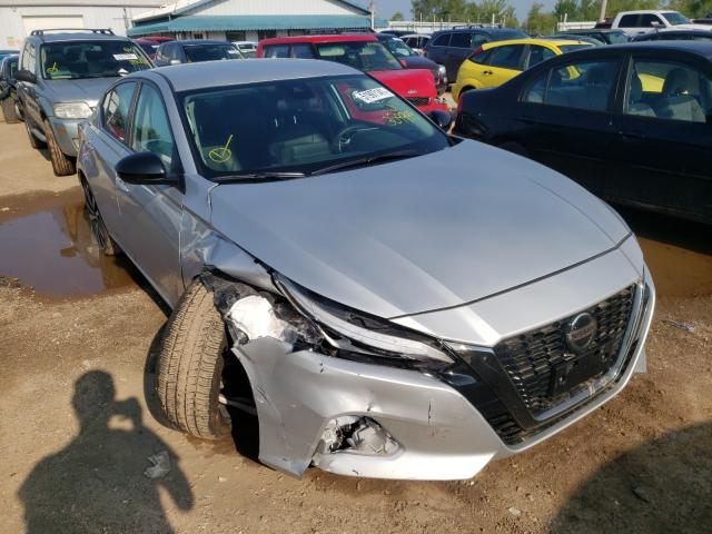 Salvage cars for sale from Copart Pekin, IL: 2021 Nissan Altima SR