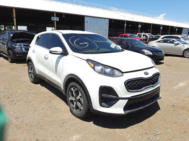 Salvage cars for sale at Phoenix, AZ auction: 2020 KIA Sportage L