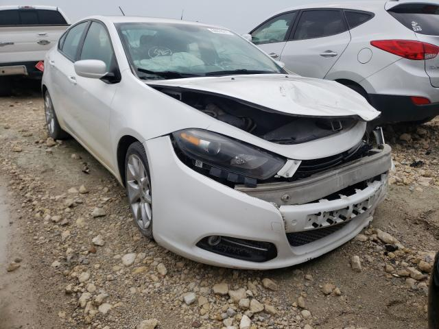 Salvage cars for sale from Copart Haslet, TX: 2013 Dodge Dart SXT