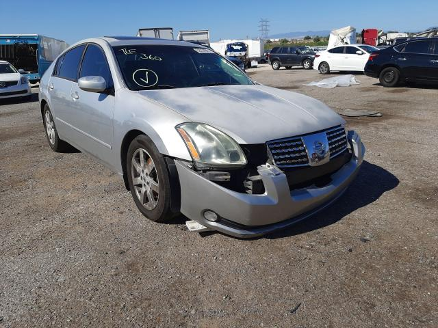 Salvage cars for sale from Copart Tucson, AZ: 2006 Nissan Maxima SE