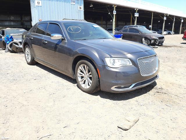Salvage cars for sale from Copart Phoenix, AZ: 2017 Chrysler 300C