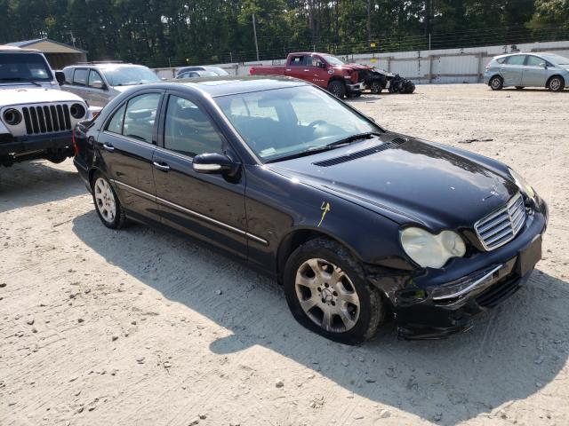Salvage cars for sale from Copart Seaford, DE: 2005 Mercedes-Benz C 240 4matic