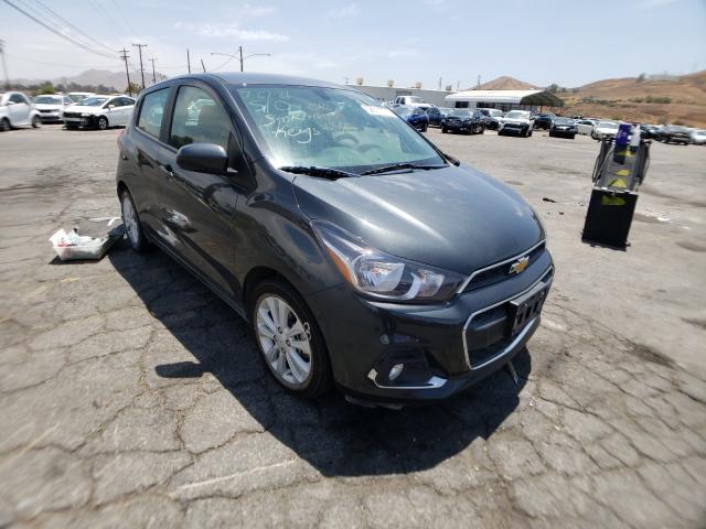 Chevrolet Spark 1LT salvage cars for sale: 2018 Chevrolet Spark 1LT