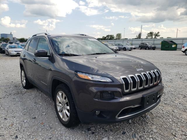 Salvage cars for sale from Copart Des Moines, IA: 2017 Jeep Cherokee L