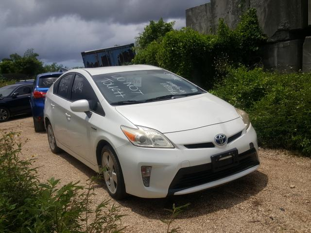 Toyota salvage cars for sale: 2015 Toyota Prius