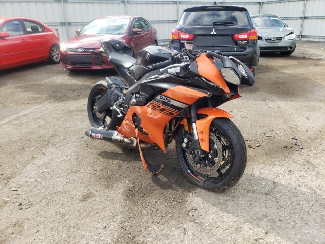 Salvage cars for sale from Copart West Mifflin, PA: 2020 Yamaha YZFR6