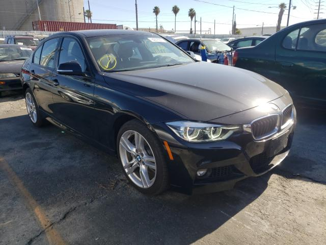 Salvage cars for sale from Copart Wilmington, CA: 2018 BMW 340 XI