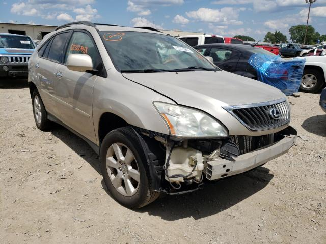 Salvage cars for sale at Indianapolis, IN auction: 2008 Lexus RX 350