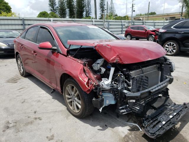 Vehiculos salvage en venta de Copart Miami, FL: 2016 Hyundai Sonata SE