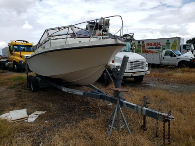 Salvage boats for sale at Riverview, FL auction: 1985 Other 228