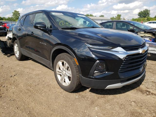 Salvage cars for sale from Copart Columbia Station, OH: 2020 Chevrolet Blazer 2LT