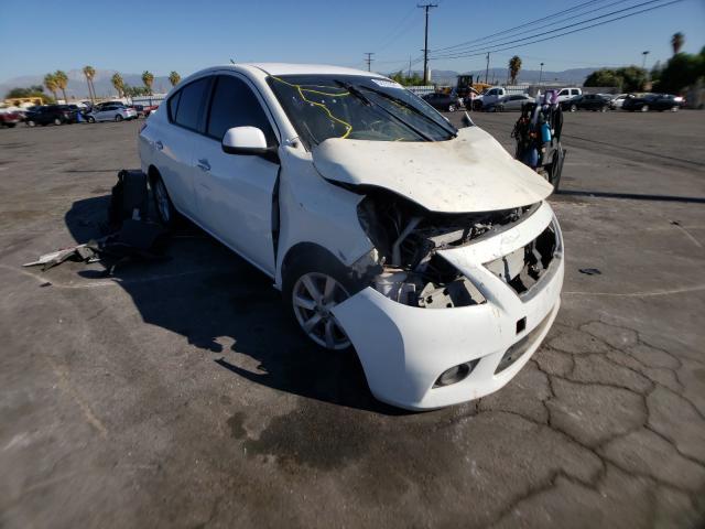 Nissan Versa salvage cars for sale: 2014 Nissan Versa