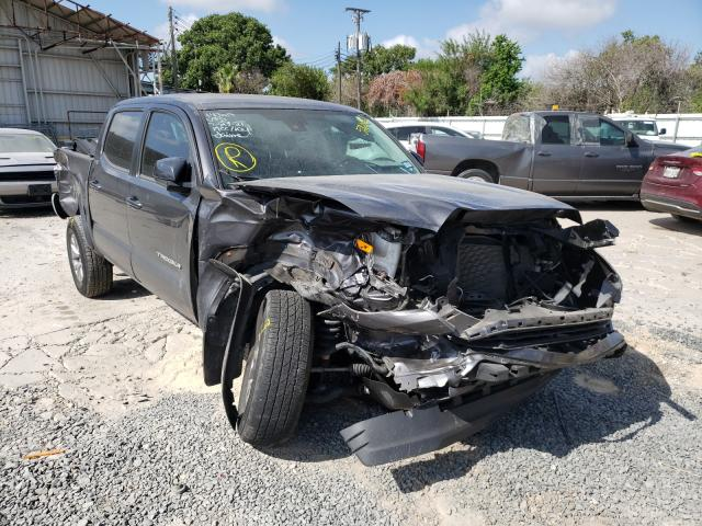 Salvage cars for sale from Copart Corpus Christi, TX: 2018 Toyota Tacoma DOU