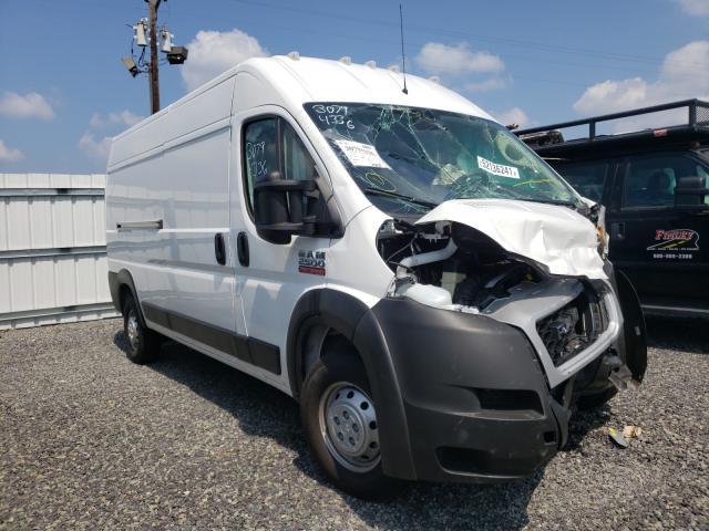 Salvage trucks for sale at Fredericksburg, VA auction: 2021 Dodge RAM Promaster