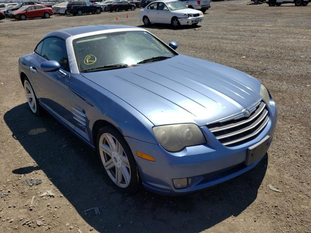 Salvage 2005 CHRYSLER CROSSFIRE - Small image. Lot 52479451