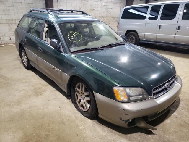 Vehiculos salvage en venta de Copart Windsor, NJ: 2003 Subaru Legacy Outback