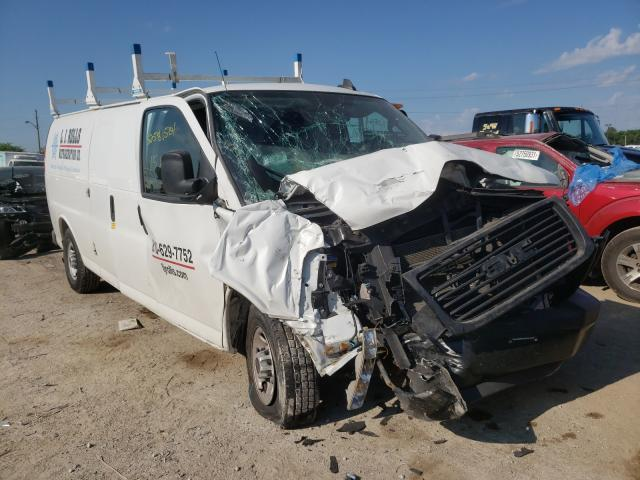 Salvage cars for sale from Copart Indianapolis, IN: 2019 GMC Savana G35