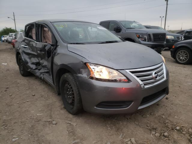Salvage cars for sale at Indianapolis, IN auction: 2015 Nissan Sentra S